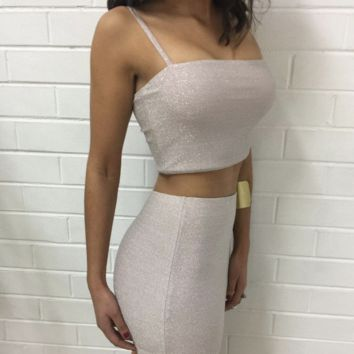 shimmer two piece set - sold as separates - more colors