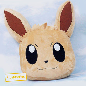 Eevee Pokemon Plush Pillow Stuffed Doll Anime Plushie Soft Toy Cushion Large