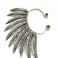 Natalie B. Pegasus Ear Cuff in Silver | Boutique To You