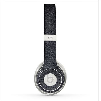 The Black Leather Skin for the Beats by Dre Solo 2 Headphones