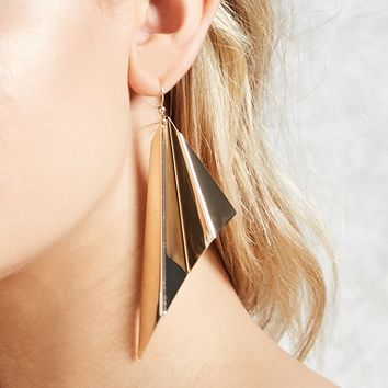 Asymmetrical Drop Earrings