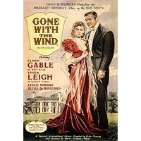 Gone with the Wind Movie Poster Clark Gable 7