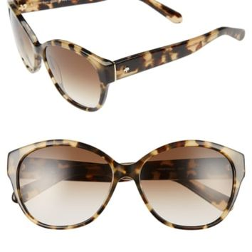 kate spade new york 'kiersten' 56mm cat eye sunglasses | Nordstrom