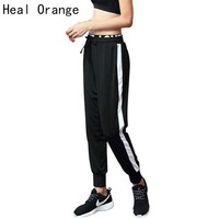 HEAL ORANGE Women Running Trousers Sport Pants Woman Sportswear Female Sports Loose Gym Clothing Pant Women Fitness Gym Pants