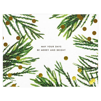 Merry and Bright Boxed Holiday Cards