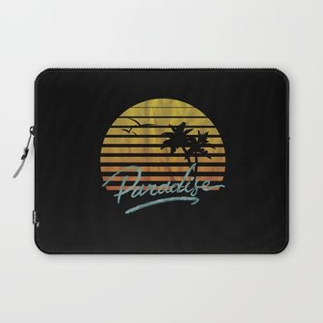 Paradise Laptop Sleeve by Anthony Troester