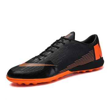 Men's professional Soccer Shoes futsal Indoor TF Football Cleats Turf football sneakers shoe Male Soccer Cleats boots