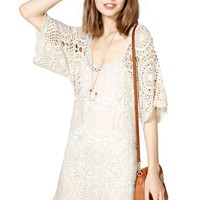 Lucca Couture Crochet Shift Dress