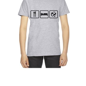 Eat Sleep Volleyball - Youth T-shirt