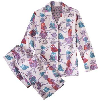 Nick & Nora® Women's Pajama Set - Owls