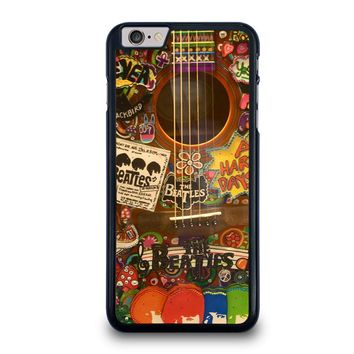 THE BEATLES GUITAR COLLAGE iPhone 6 / 6S Plus Case