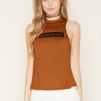 Madison Ave Graphic Top