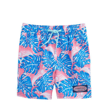 Boys Sailfish & Leaves Chappy Trunks