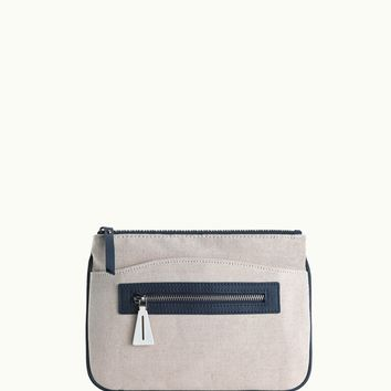 GiGi New York Jennifer All in One Case Canvas with Navy Pebble