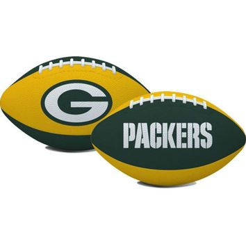 Green Bay Packers NFL Youth Size Team Color Football (Hail Mary)