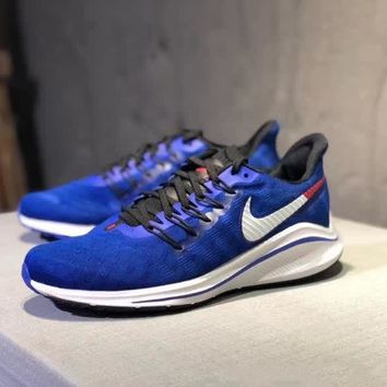"""Nike Air Zoom Vomero 14"" Men Sport Casual Fashion Knit Running Shoes Sneakers"