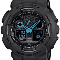G-Shock Classic X-Large Matte Black/Blue - LIMITED EDITION