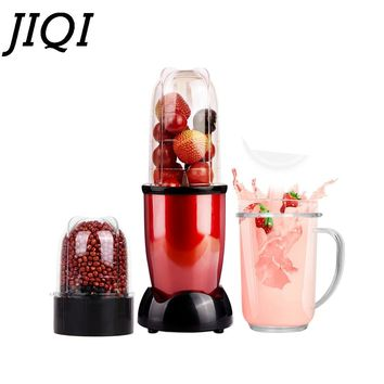 JIQI MINI Portable Electric juicer Blender Baby Food Milkshake Mixer Meat Grinder Multifunction Fruit Juice Maker Machine EU US