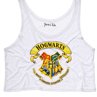 Hogwarts Crop Tank Top