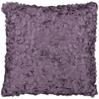 Purple Rondelle Throw Pillow - Candice Olson Design