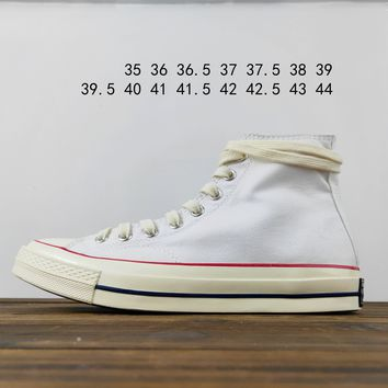 Kuyou Fa19630 Converse Chuck Taylor All Star 1970s 162050c High Top Canvas Shoes 001