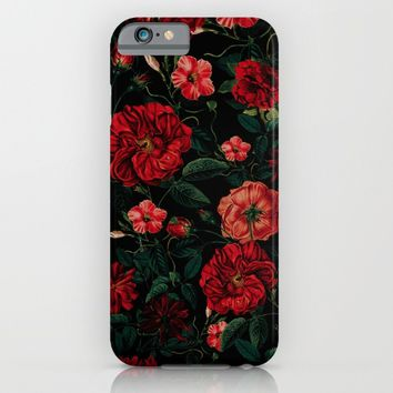 RED NIGHT iPhone & iPod Case by VS Fashion Studio