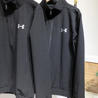 Under Armour New fashion letter print long sleeve coat Black