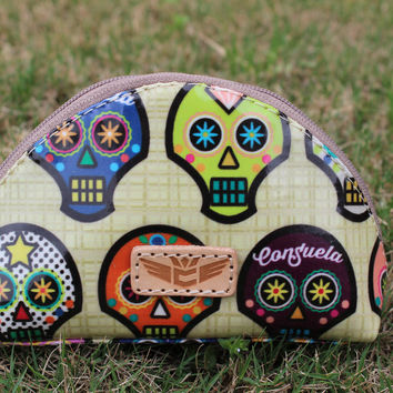 Consuela Small Dome Cosmetic Sugar Skull