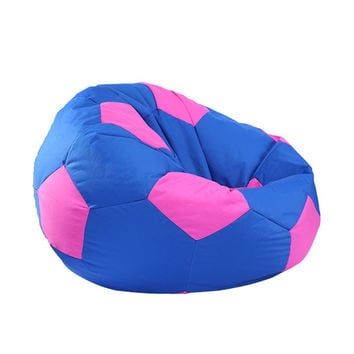 Best Selling Home Furniture Modern Beanbags Printed Corner Sofa Lazy Bean Bag Chair Living Room Green Blue