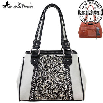 Montana West MW141G-8036 Concealed Carry Handbag