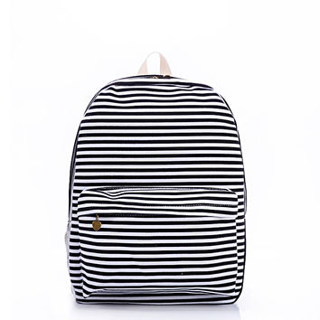 Striped Fashion Classics Classic Stripes Stylish Backpack = 4887411012