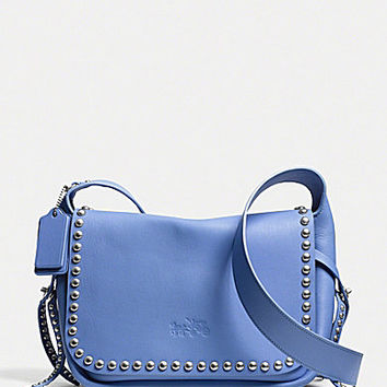 COACH RIVETS DAKOTAH CROSSBODY IN CALF LEATHER | Dillards.com