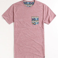 On The Byas Stiles Pocket Crew Tee at PacSun.com