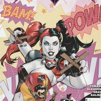 Batman and Robin # 39 DC Comics The New 52! Vol. 2 Variant Cover Harley Quinn