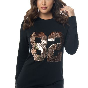 Jayce Sequin Sweater