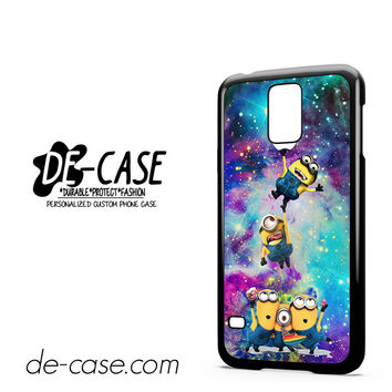 Minions Apple Galaxy For Samsung Galaxy S5 Case Phone Case Gift Present