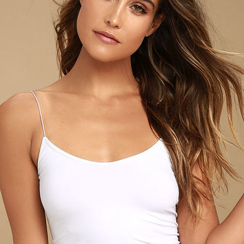 Free People Brami White Bra Top