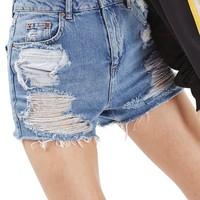 Topshop Ripped Mom Shorts | Nordstrom
