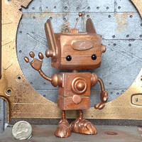 Little Steampunk robot Zed