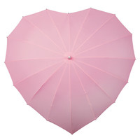 Heart Umbrella (Soft Pink) : Umbrella - The Buggy Brolly for Strollers, Buggies and Prams, umbrellas to keep Mum and Dad dry