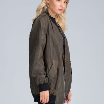 Against Elements Bomber Jacket