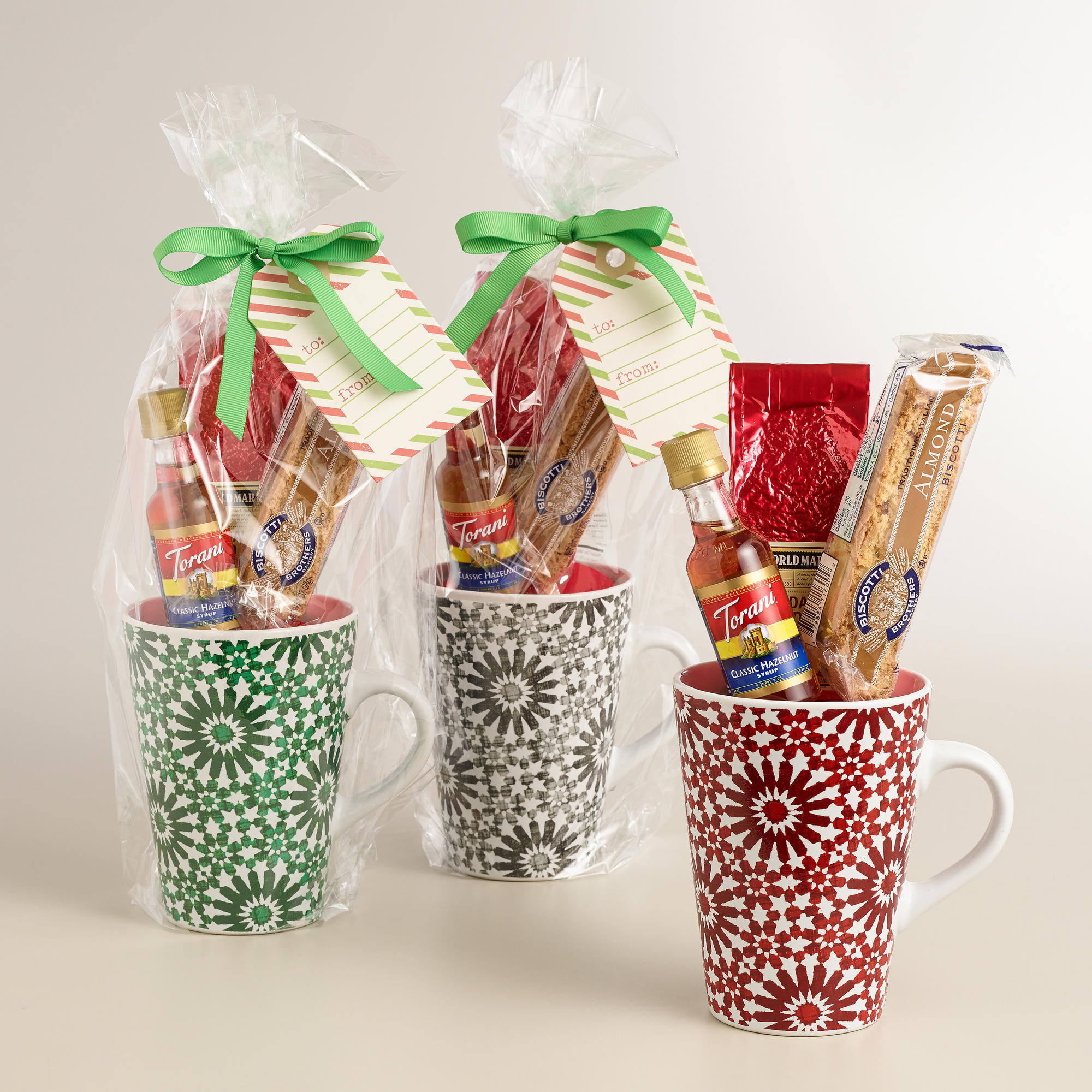 World market holiday blend coffee mug from cost plus