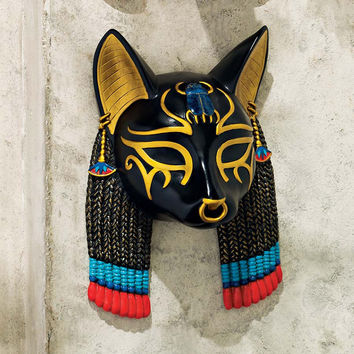 Park Avenue Collection Bastet Mask Of Ancient Egypt