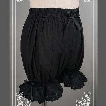 Hot Shorts Sweet Cotton Lolita /Bloomers with Lace TrimmingAT_43_3