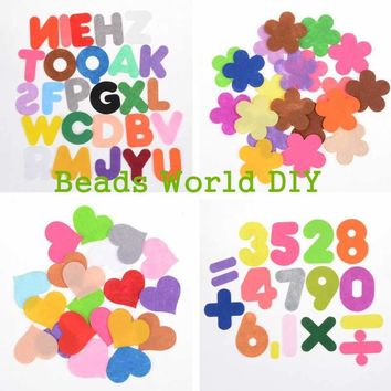 Telas Patchwork Tissu Colors Square Heart Pattern Fabric Scrapbooking Craft Handmade Sewing Dolls Cloth
