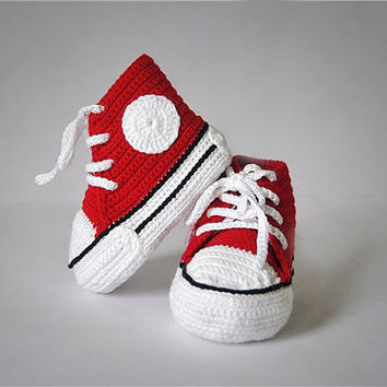 Crochet patterns (PDF) - Baby Boy Booties - Pattern  number 12