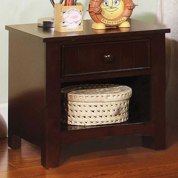 Furniture Of America - Omnus Dark Walnut Nightstand