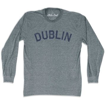 Dublin City Vintage Long Sleeve T-Shirt