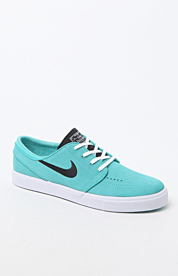 Nike SB Zoom Stefan Janoski Mint Green Shoes - Mens Shoes - Teal Black e2cbbc956
