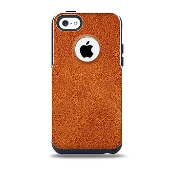 Deep Orange Texture Skin for the iPhone 5c OtterBox Commuter Case